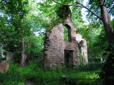 Old White Church ruins, Milltown, Kerry