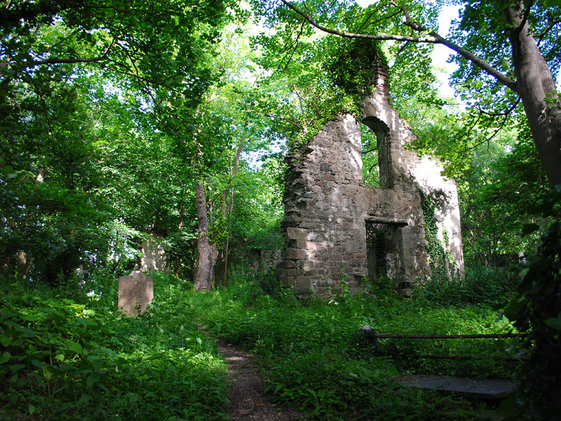 Ruins of the Old White Church, Milltown