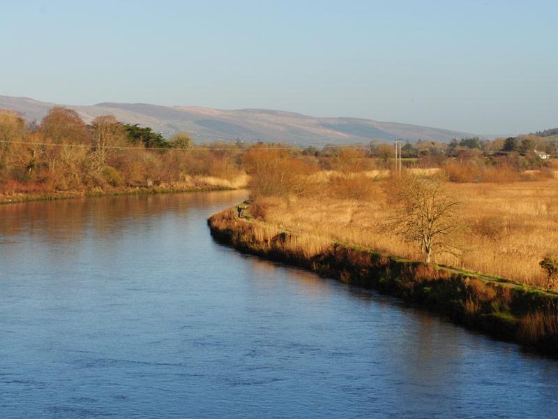 The river walk along the Laune near Killorglin