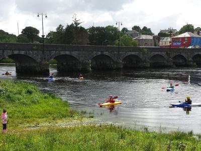Kayaking in Killorglin