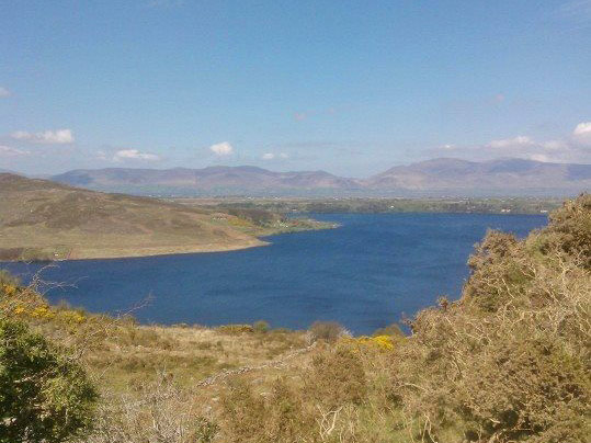 View from south side overlooking Caragh Lake