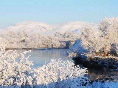 The River Laune Killorglin in Winter