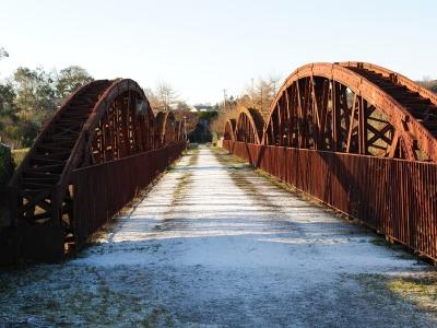 The old bridge in Killorglin