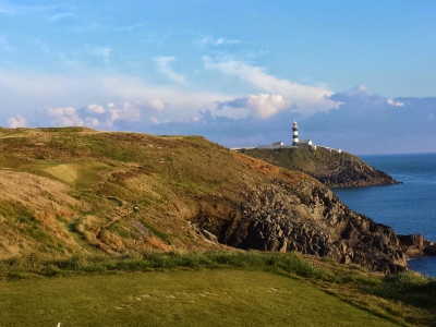 The iconic Lighthouse can be viewed from the 16th Tee, Kinsale