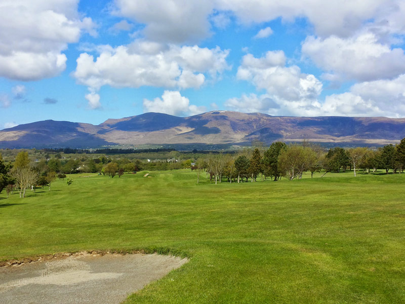 View of the 9th Fairway at Killorglin Golf Club