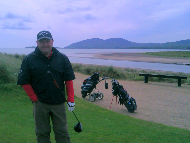 Waterville Golf Links, beautiful scenic views