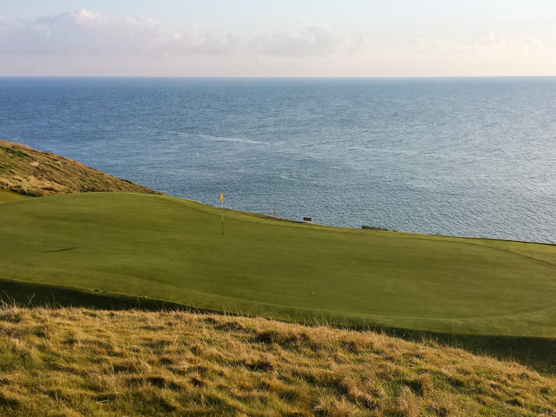 The Old Head, Kinsale, Links view from the 16th